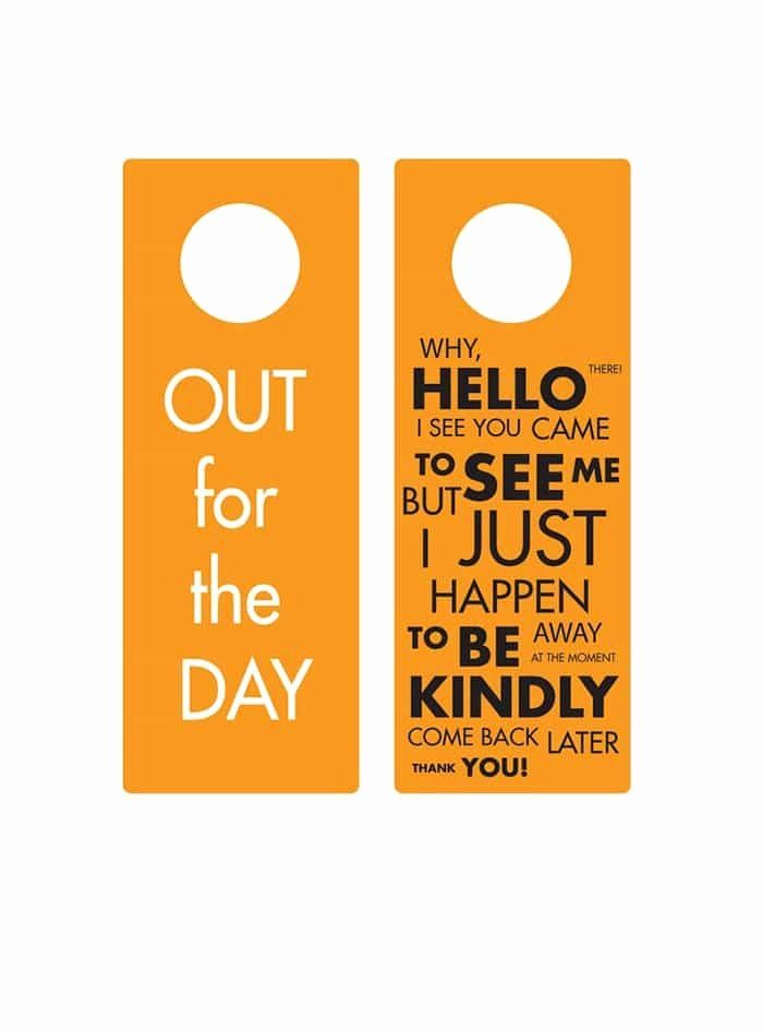 Door Hanger Templates for Word Inspirational 43 Free Door Hanger Templates Word Pdf Template Lab