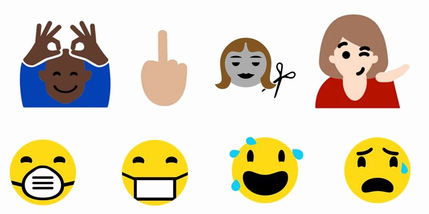 Download Middle Finger Emoji New Microsoft Calls Out Apple with New Suite Bizarre Emojis · Student Edge News