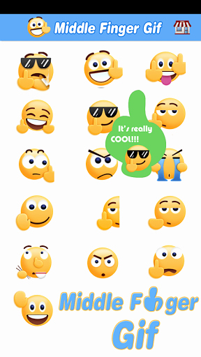Download Middle Finger Emoji Unique Middle Finger Emoji Sticker 1 5 8 Apk