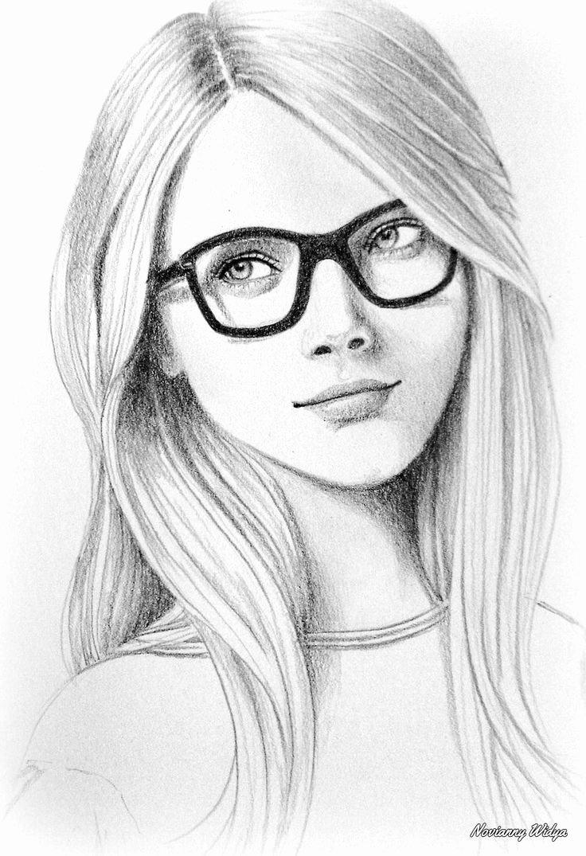 Drawing Of Beautiful Girls Elegant Beautiful Drawing Of A Beautiful Girl Art In 2019