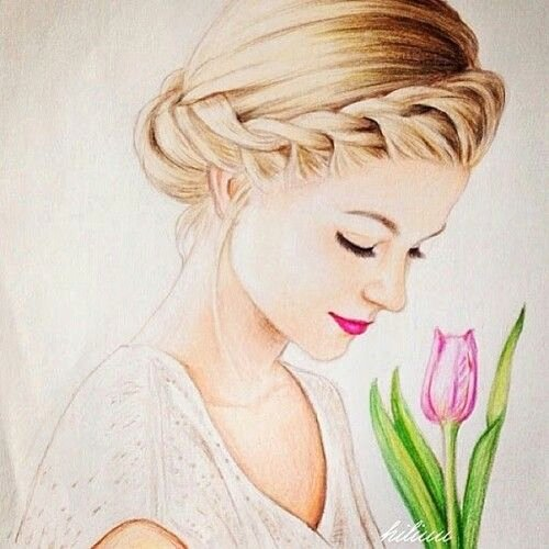 Drawing Of Beautiful Girls Fresh Drawn Chick Drawed Pencil and In Color Drawn Chick Drawed
