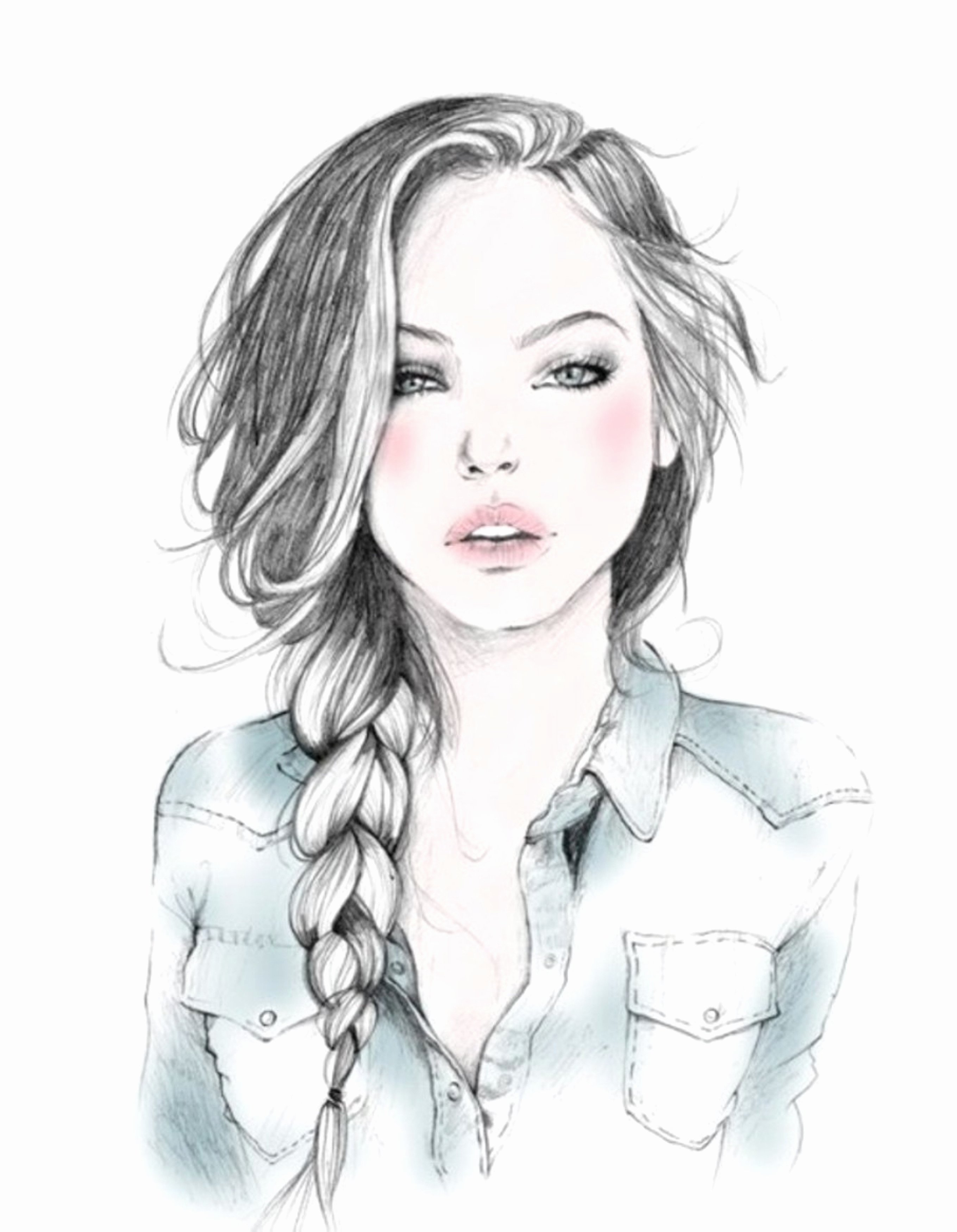 Drawing Of Beautiful Girls Inspirational Free Easy Girl Drawing Download Free Clip Art Free Clip Art On Clipart Library