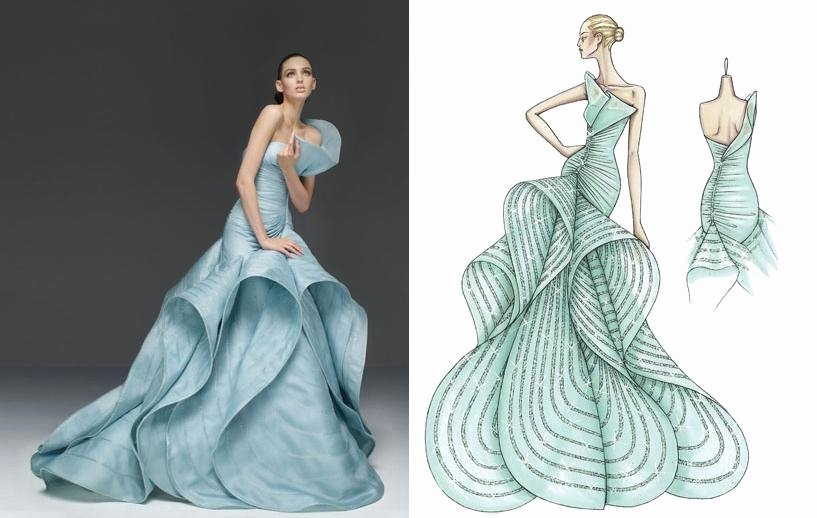Dress Sketches for Fashion Designing Awesome Fashion Design Sketches Dresses 2016 2017