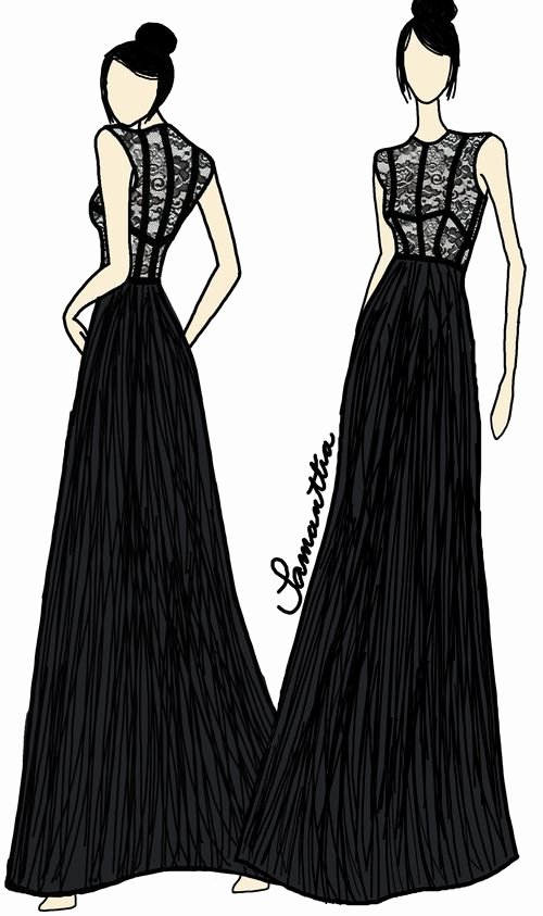 Dress Sketches for Fashion Designing Awesome Simple Fashion Design Sketches Dresses