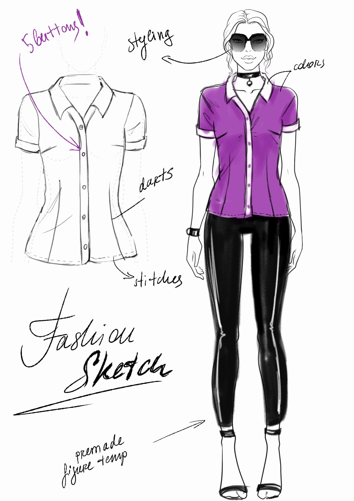 Dress Sketches for Fashion Designing Best Of Fashion Sketch Vs Fashion Illustration Vs Flats
