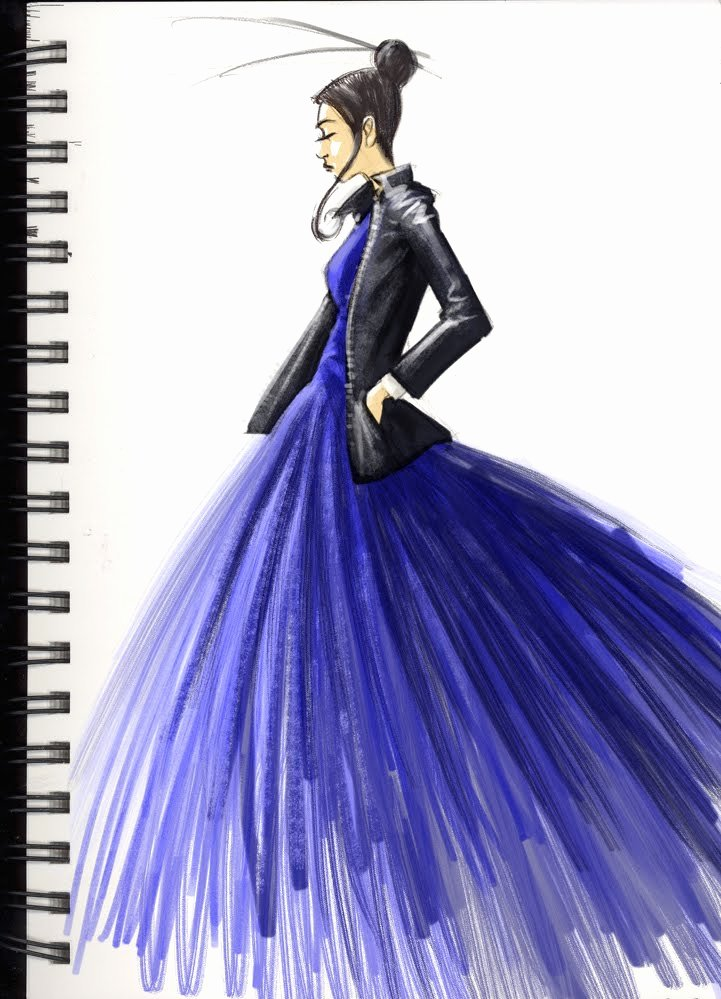 Dress Sketches for Fashion Designing Elegant the Laughing Chimp Fashion Sketch