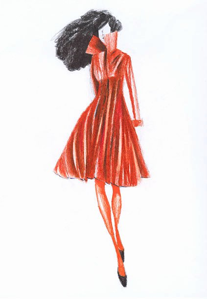 Dress Sketches for Fashion Designing Fresh Best Fashion Design Sketches Stock S & Royalty Free istock