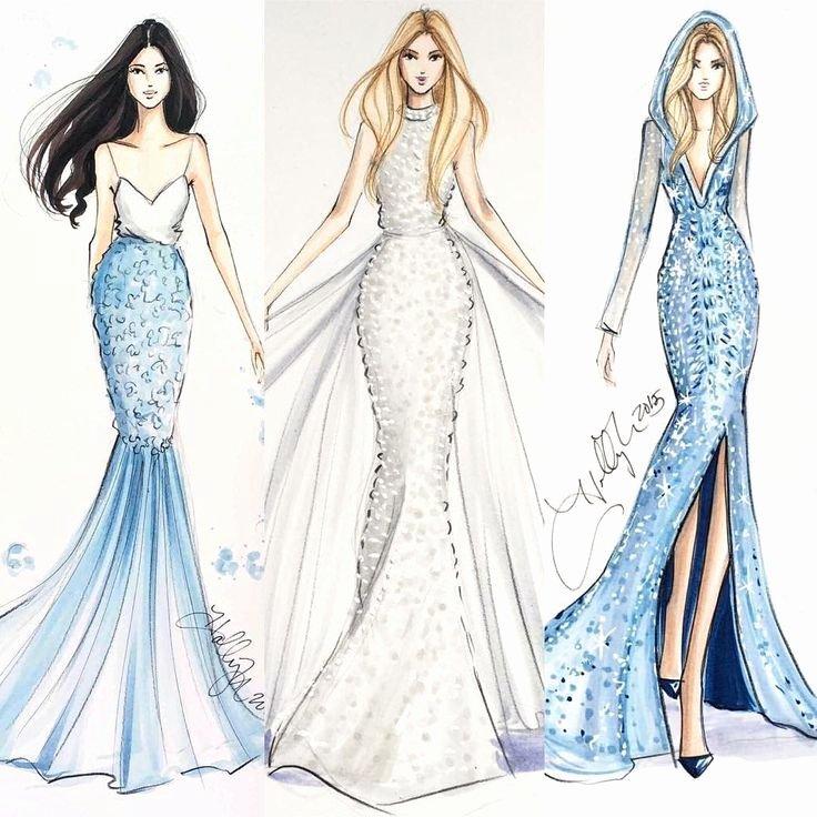 Dress Sketches for Fashion Designing Inspirational Sieh Dir Ses Instagram Foto Von Hnicholsillustration An • Gefällt 21 5 Tsd Mal