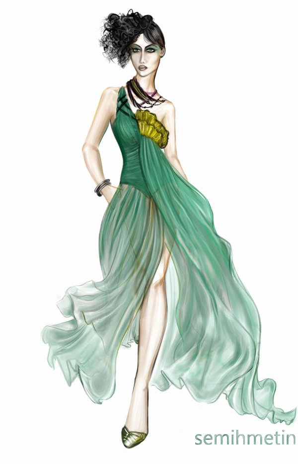 Dress Sketches for Fashion Designing Lovely 30 Cool Fashion Sketches Hative