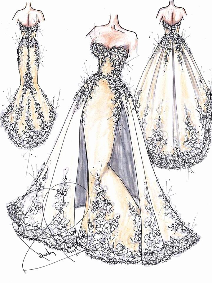 Dress Sketches for Fashion Designing Luxury 17 Best Ideas About Clothing Sketches On Pinterest