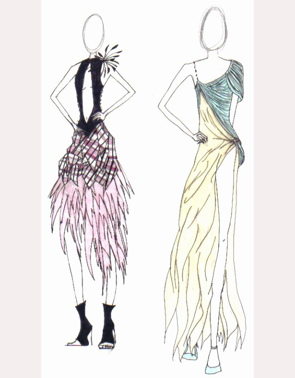 Dress Sketches for Fashion Designing Unique 49 Best Fashion Design Sketches for Your Inspiration