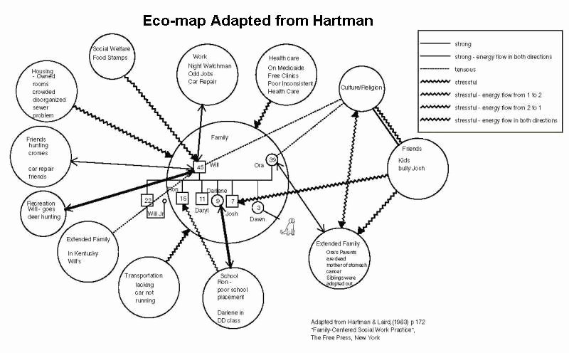 Ecomap social Work Template Fresh E Ap Examples Genogram Analytics