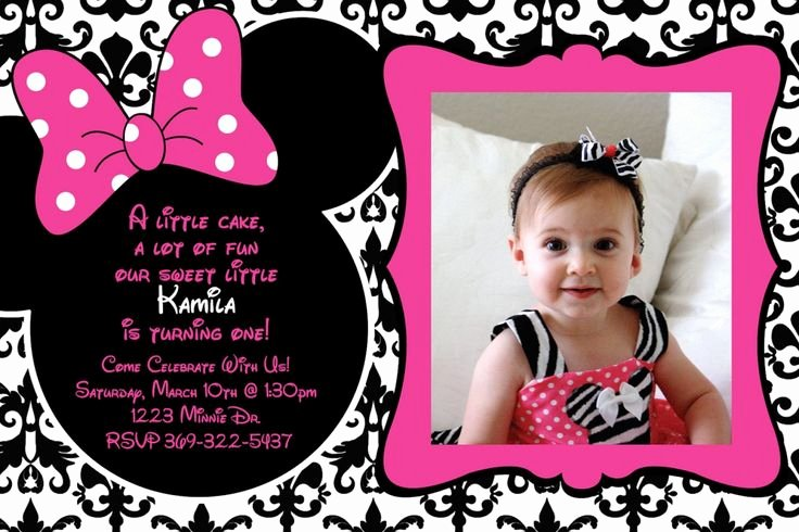 Editable Minnie Mouse Birthday Invitations Inspirational Free Editable Minnie Mouse Invitation Places to Visit