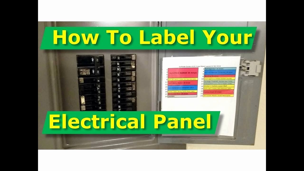 Electrical Panel Circuit Directory Template Awesome How to Map Out Label Your Electrical Panel Fuse Panel Diagram
