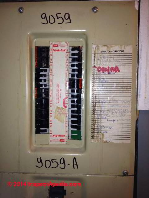 Electrical Panel Circuit Directory Template Fresh Should Federal Pioneer Fp Stab Lok Panels & Circuit Breakers Be Replaced