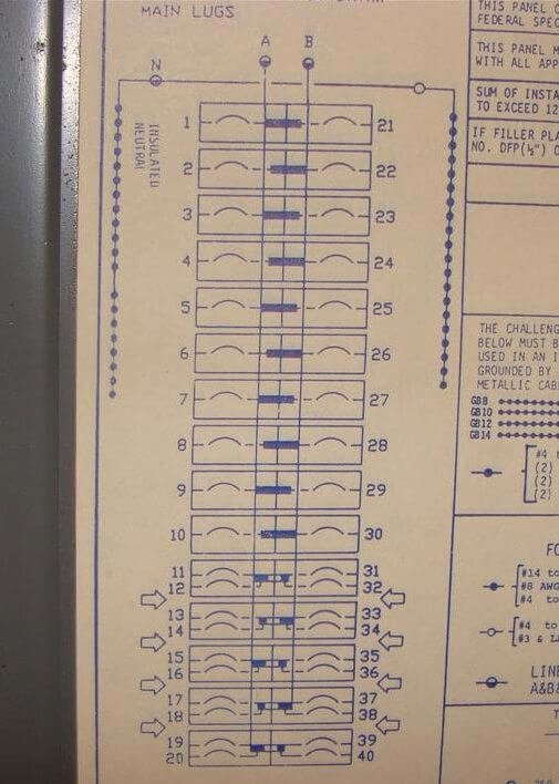 Electrical Panel Labels Template Fresh How to Know when Tandem Circuit Breakers Can Be Used Aka