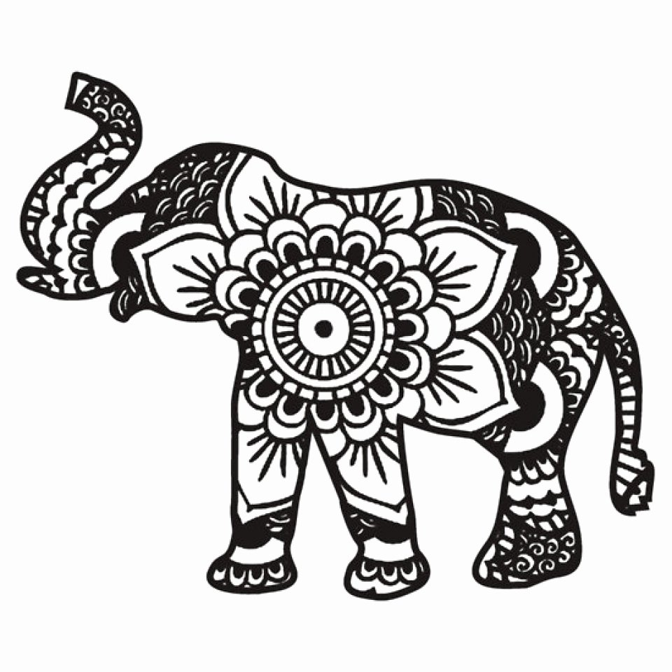 Elephant Mandala Coloring Pages Beautiful Get This Mandala Elephant Coloring Pages 3g89mnj2