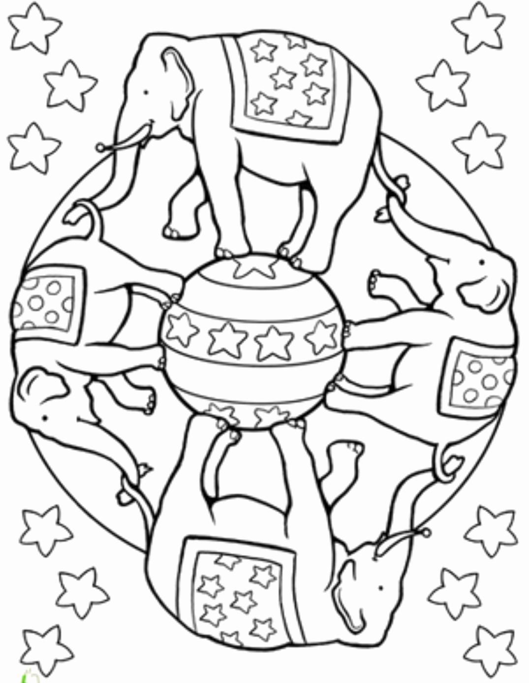 Elephant Mandala Coloring Pages Elegant Free Coloring Pages Mandala Elephant 747 Bestofcoloring