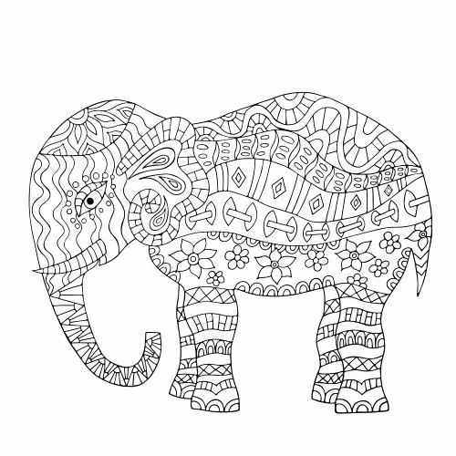Elephant Mandala Coloring Pages Luxury Activities Colors and Coloring Pages On Pinterest