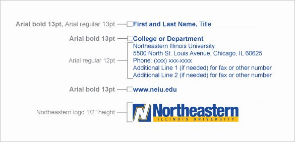 Email Signature College Student Awesome 5 College Student Email Signatures Free Download