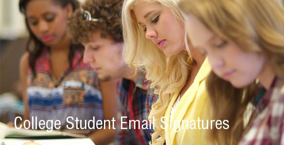 Email Signature College Student Fresh 13 College Student Email Signatures