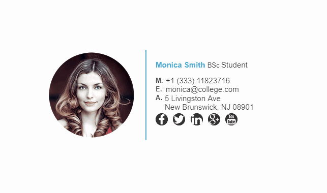 Email Signature Examples Student Inspirational College Student Email Signature Tips and Examples