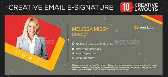 Email Signature for College Student Awesome 5 College Student Email Signature Examples Psd Ai