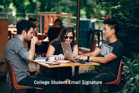 Email Signature for College Student Unique How to Create College Student Email Signature Diy Guide Techrolet