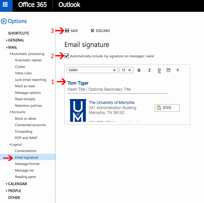 Email Signature for Undergraduate Student Best Of Email Signatures Line Email Signatures the University Of Memphis