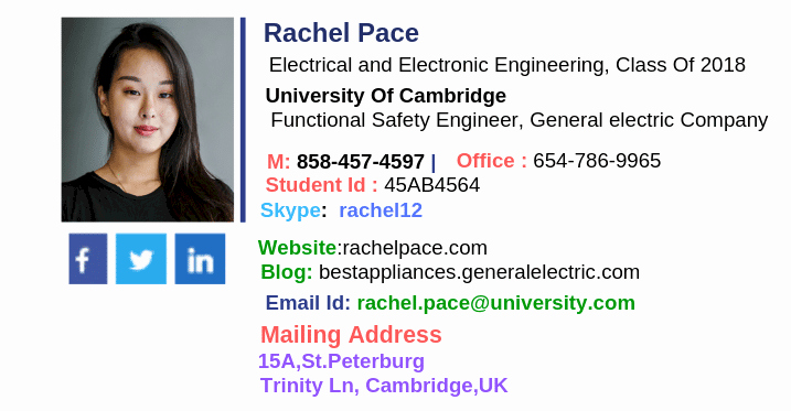 Email Signature for Undergraduate Student Best Of How to Design the Best College Student Email Signature Trulygeeky