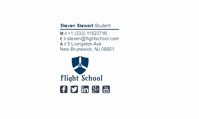 Email Signature for Undergraduate Student New College Student Email Signature Tips and Examples