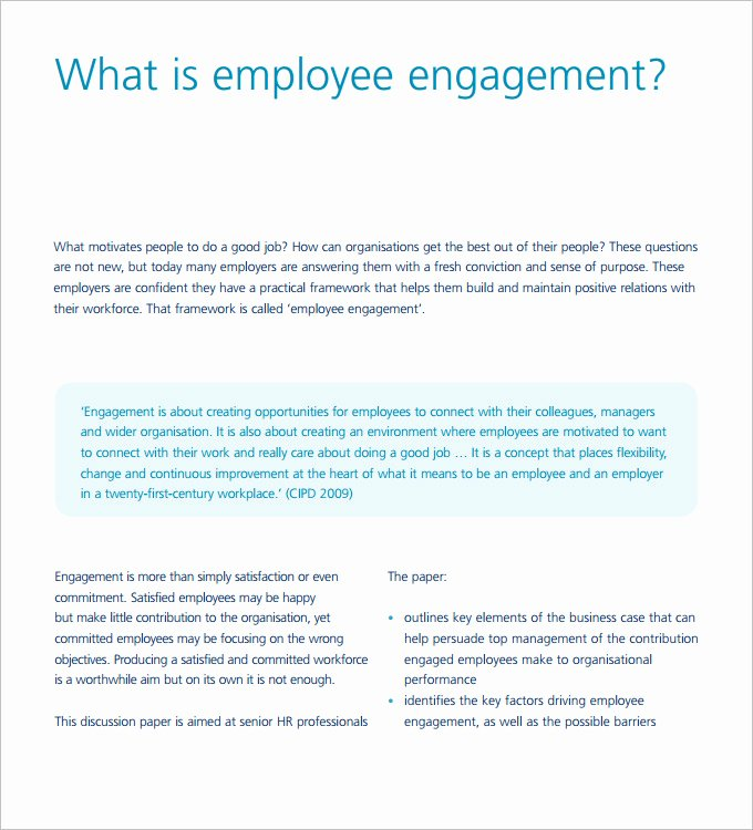 Employee Engagement Action Planning Template Luxury Hr Strategy Template 31 Word Pdf Documents Download