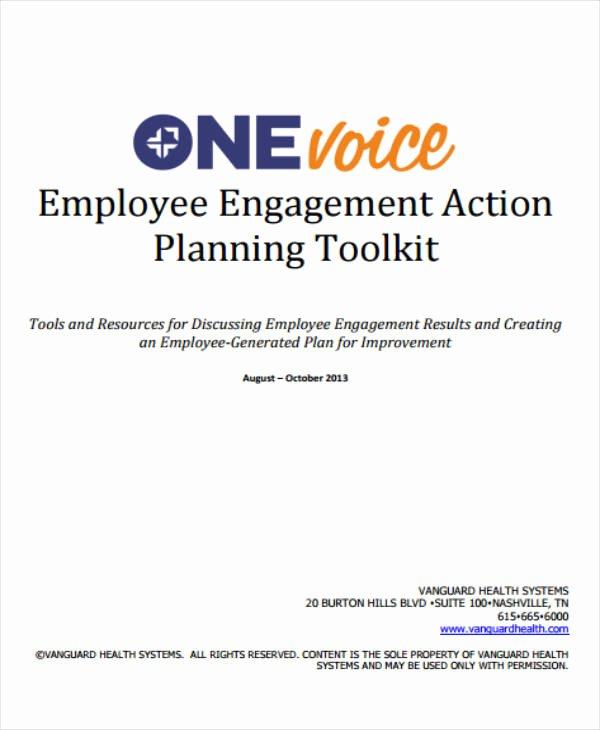 Employee Engagement Plan Template Luxury 12 Employee Action Plan Templates Pdf