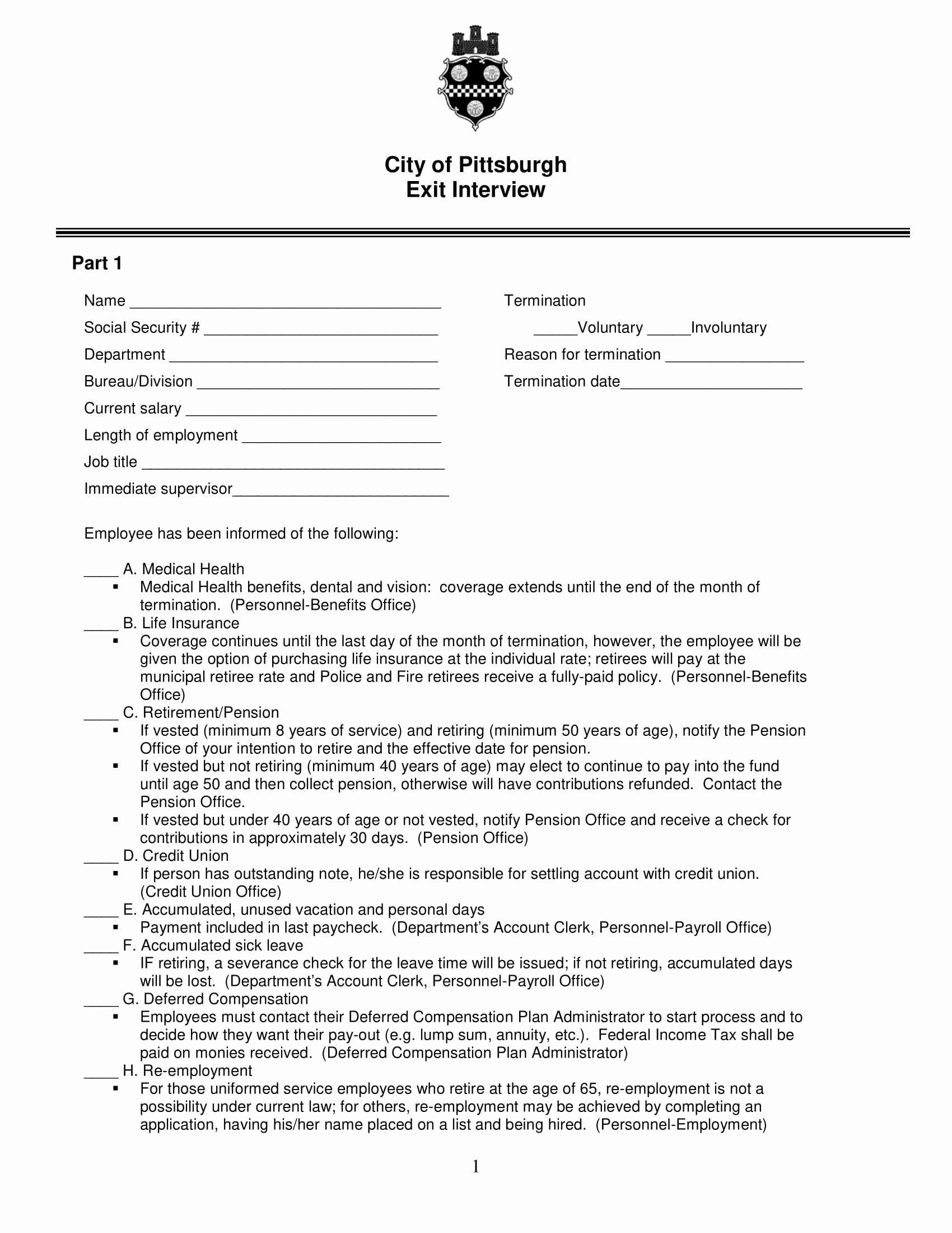 Employee Exit Interview form Inspirational 10 Employee Exit Questionnaire Examples Pdf