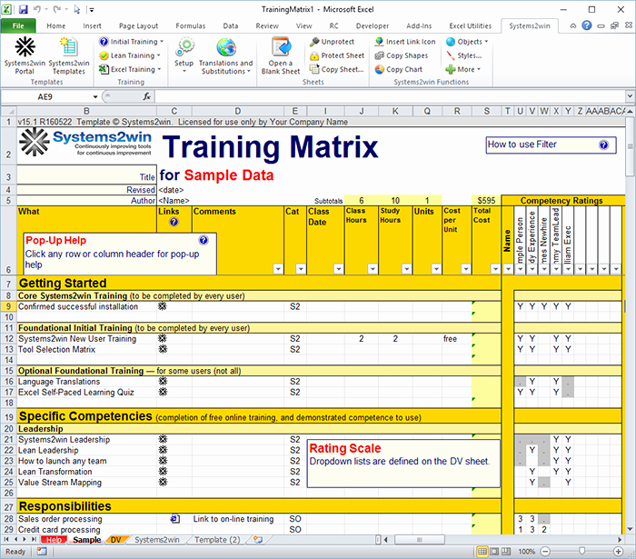 Employee Training Matrix Template Excel Unique 23 Of Training Matrix Example Template