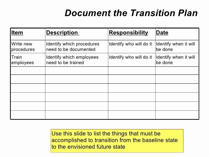 Employee Transition Plan Template Best Of Employee Role Transition Plan Template Driverlayer Search Engine