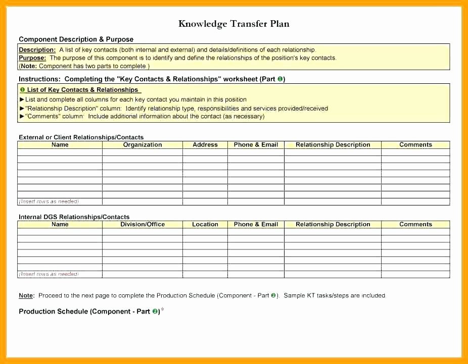 Employee Transition Plan Template Lovely 10 Employee Transition Plan Template