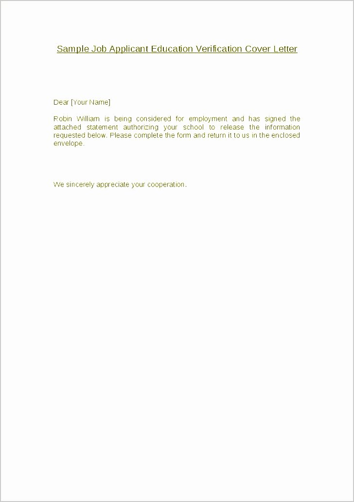 Employment Verification Letter for Immigration Unique 10 Employment Verification Letter Sample for Immigration Sampletemplatez