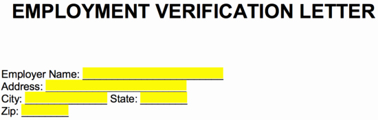 Employment Verification Request form Unique Free Employment In E Verification Letter Pdf Word