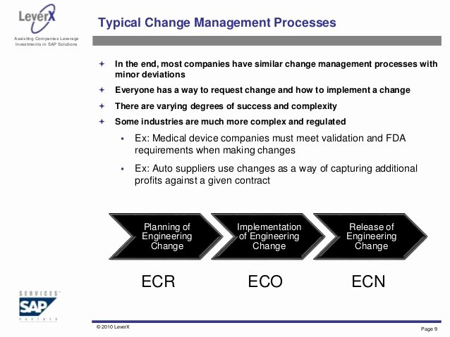Engineering Change order Template Lovely Engineering Change Management Overview and Best Practices