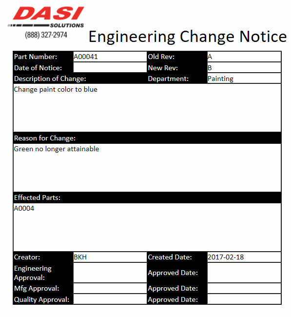 Engineering Change order Template Lovely solidworks Pdm forms Series Part 3 Xml as forms
