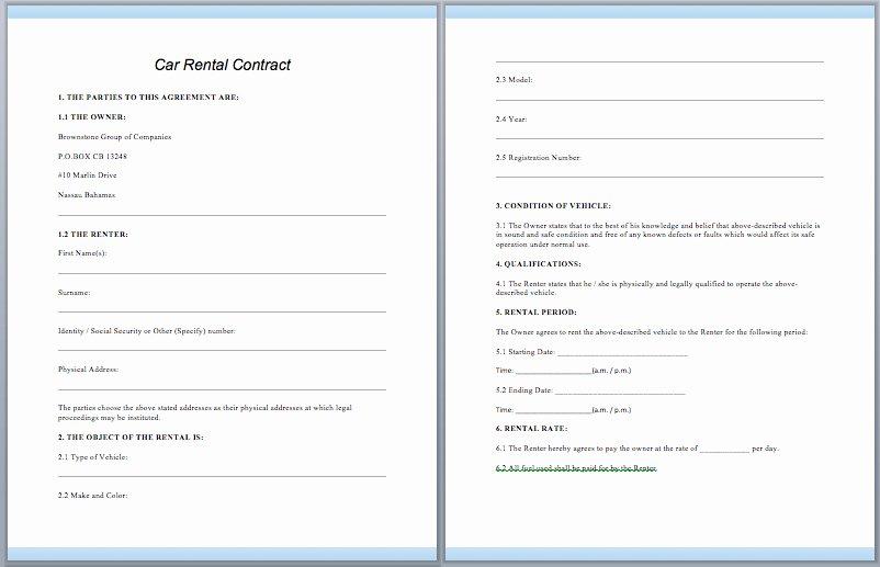 Enterprise Car Rental Agreement Pdf Lovely Legal Vehicle Rental Agreement Id Opendata