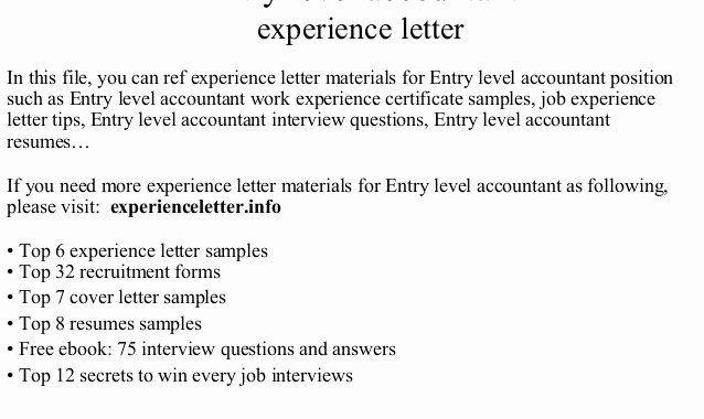 Entry Level Accounting Cover Letter Inspirational Entry Level Staff Accountant Security Guards Panies