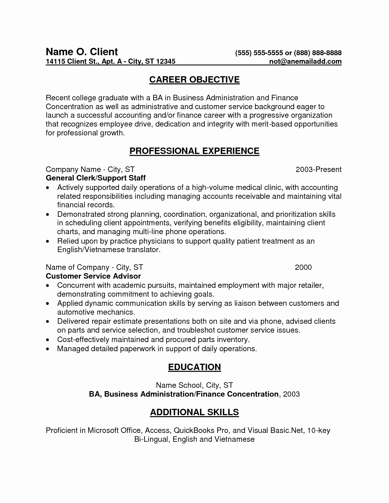 Entry Level Accounting Cover Letter Lovely Resume Objective Entry Level Position Cover Letter Study Professional Job Application Business