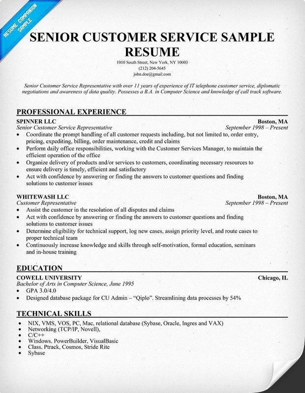 Entry Level Customer Service Resume Lovely Senior Customer Service Resume Resume Panion