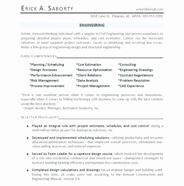 Entry Level Electrical Engineer Resume Fresh Materials Engineer Resume – Englishor