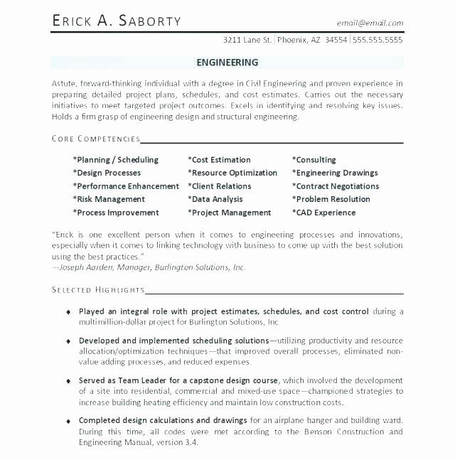 Entry Level Electrical Engineer Resume Fresh Materials Engineer Resume – Englishor