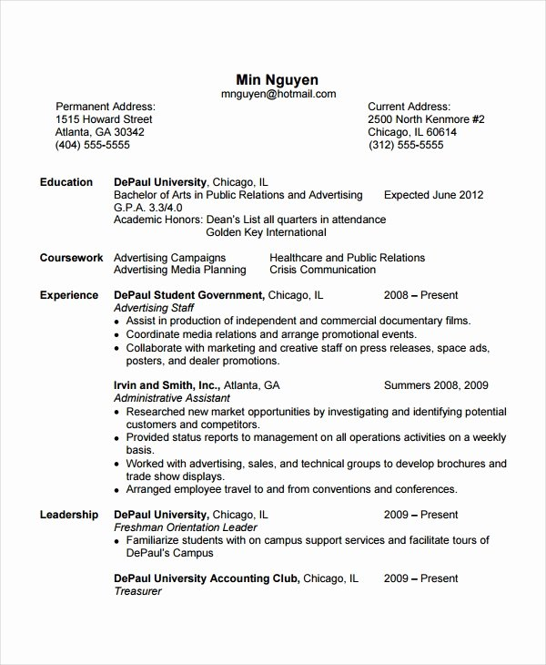 Entry Level Flight attendant Resume Luxury 5 Flight attendant Resume Templates Free Word Pdf Document Downloads