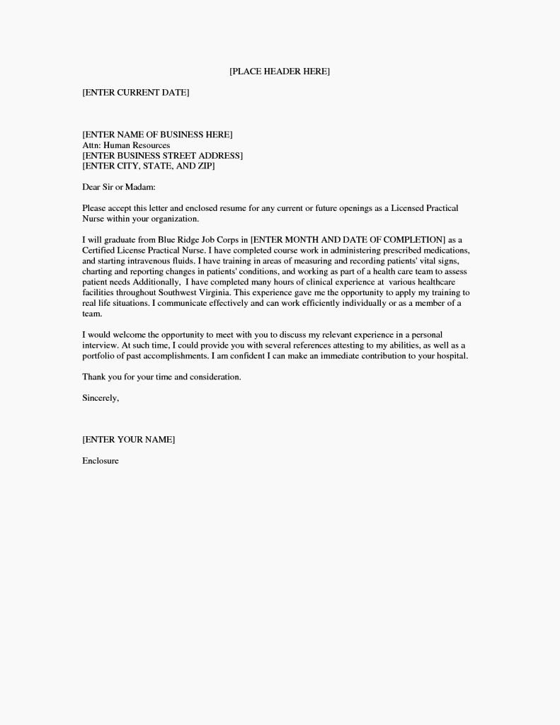 Entry Level Nurse Cover Letter Lovely Application Letter for Beginner Nurses Resume Template