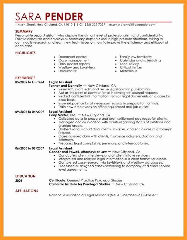 Entry Level Paralegal Resume Luxury 12 13 Paralegal Cover Letters Entry Level
